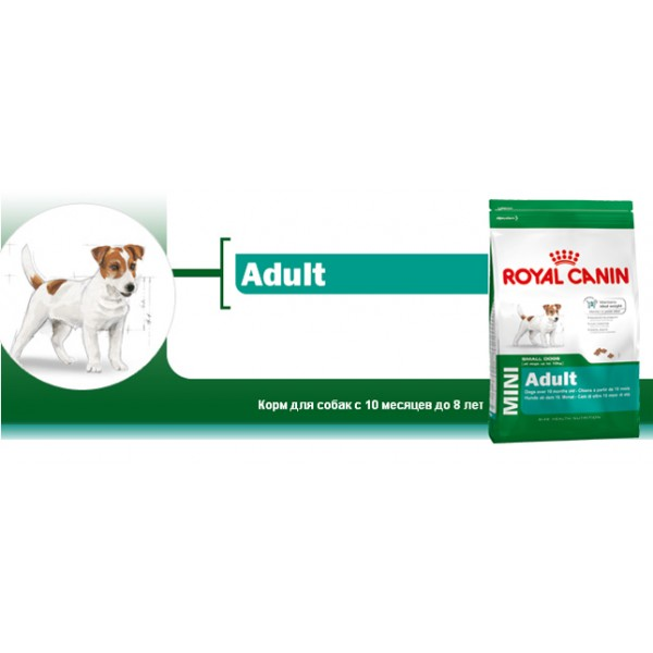 Корм royal canin мини эдалт 27